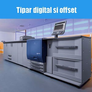 Tipar digital si offset